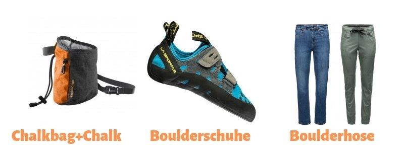 Bouldern-Anfänger-Ausrüstung