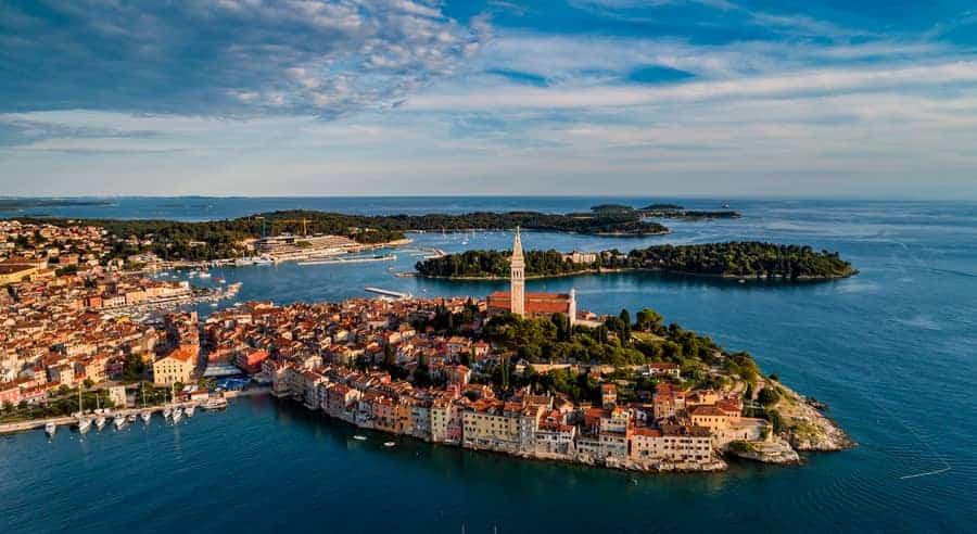 Klettern Rovinj Kroatien