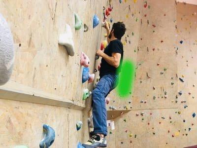 Klettertechnik tipps Hüfte 1