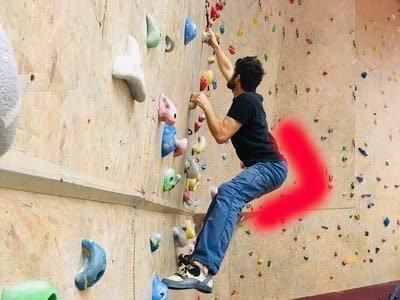 Klettertechnik tipps hüfte m