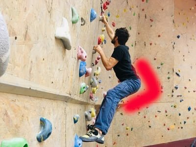 Klettertechnik Tipps Hüfte