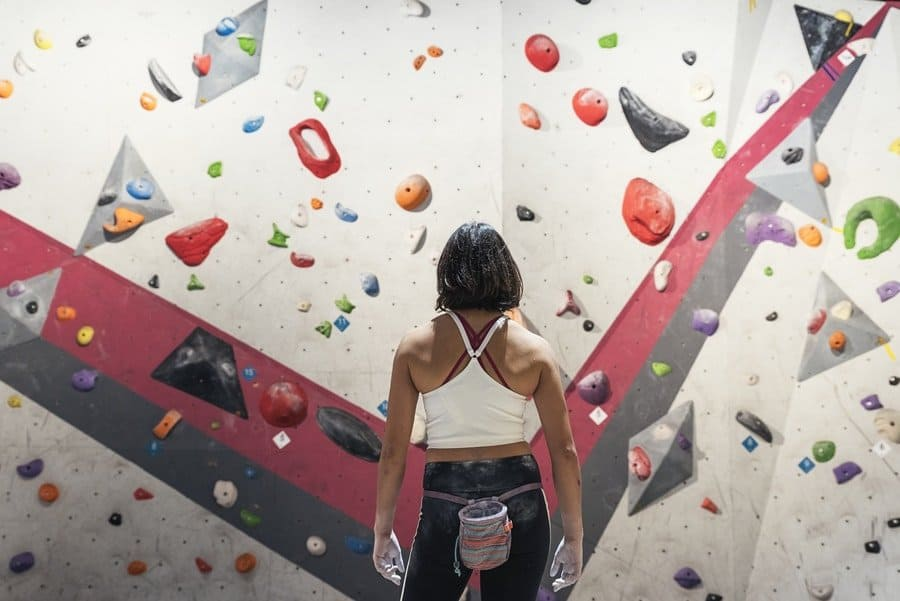 Aufbautraining Klettern Bouldern