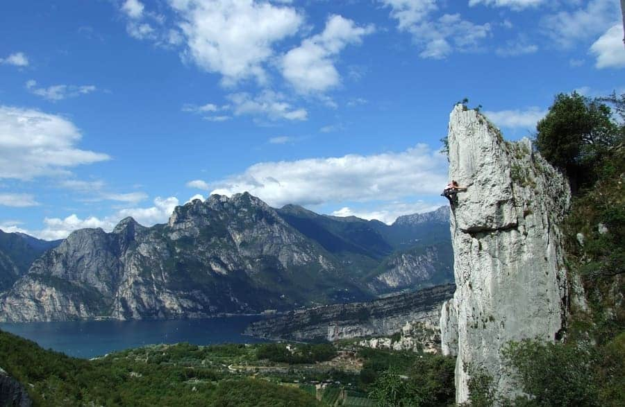 Klettern Arco Italien
