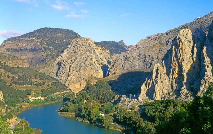 Klettern El Chorro Spanien