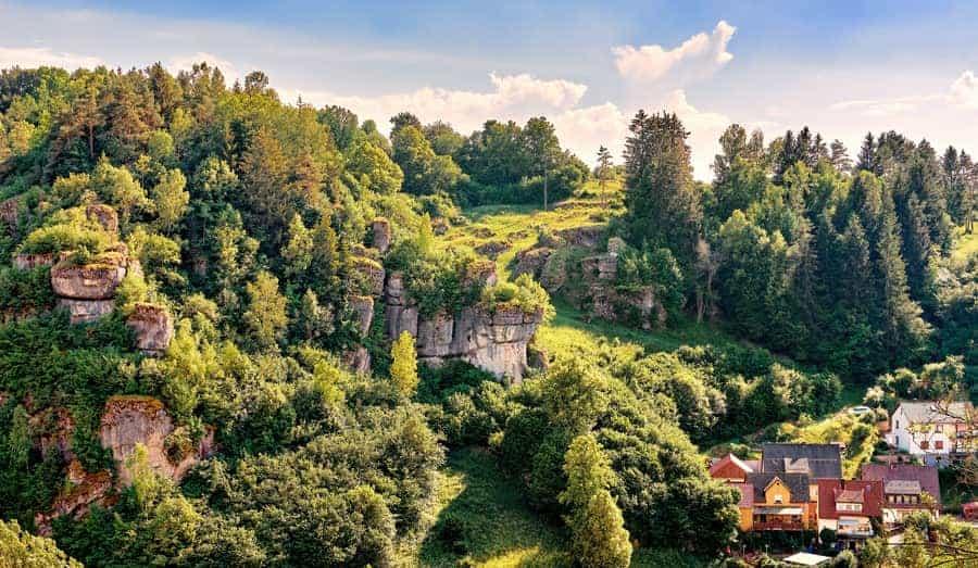 Klettern Frankenjura Deutschland