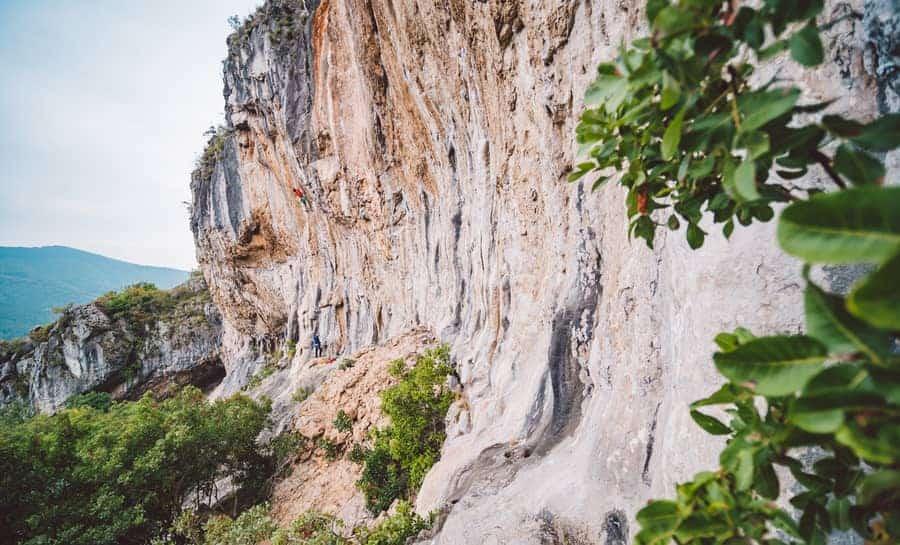 Klettern Osp Slowenien