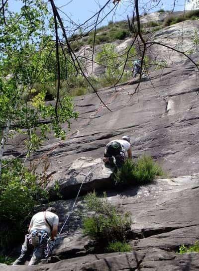 Klettern Ponte Brolla Tessin