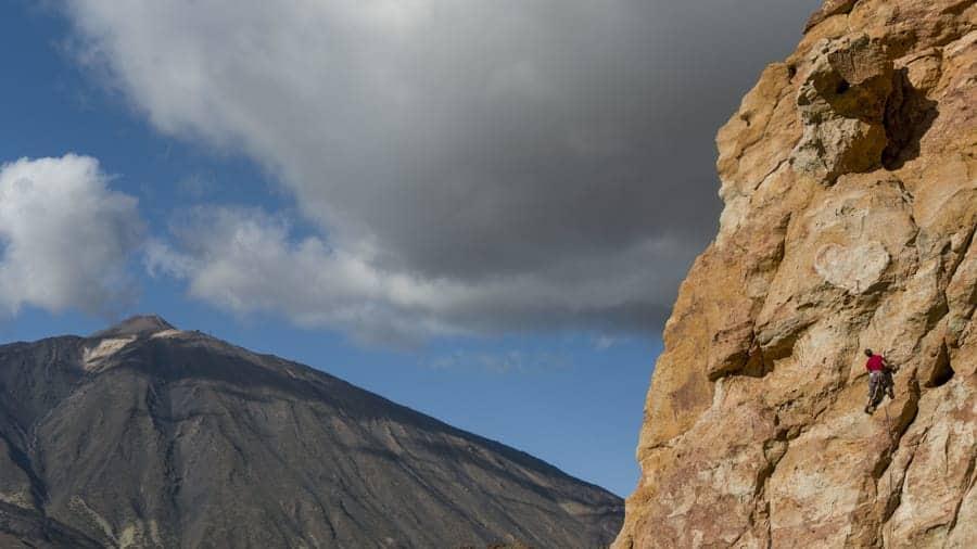 Klettern Teneriffa Spanien