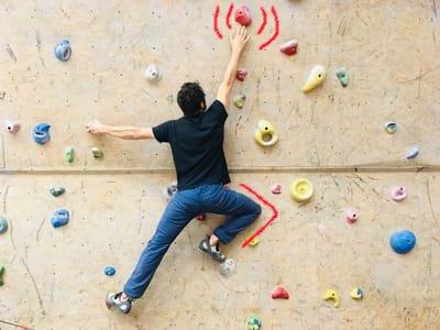 Klettertechnik tipps Eindrehen