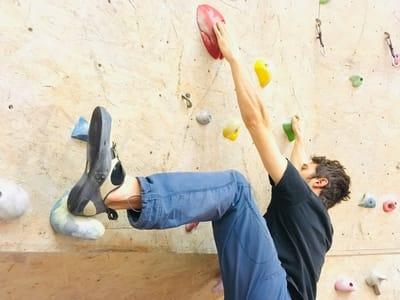 Klettertechnik tipps Heelhook