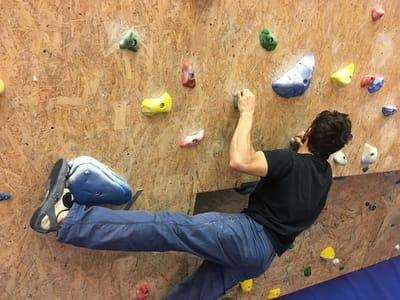 Klettertechnik tipps Toehook