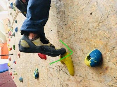Klettertechnik tipps sauber steigen
