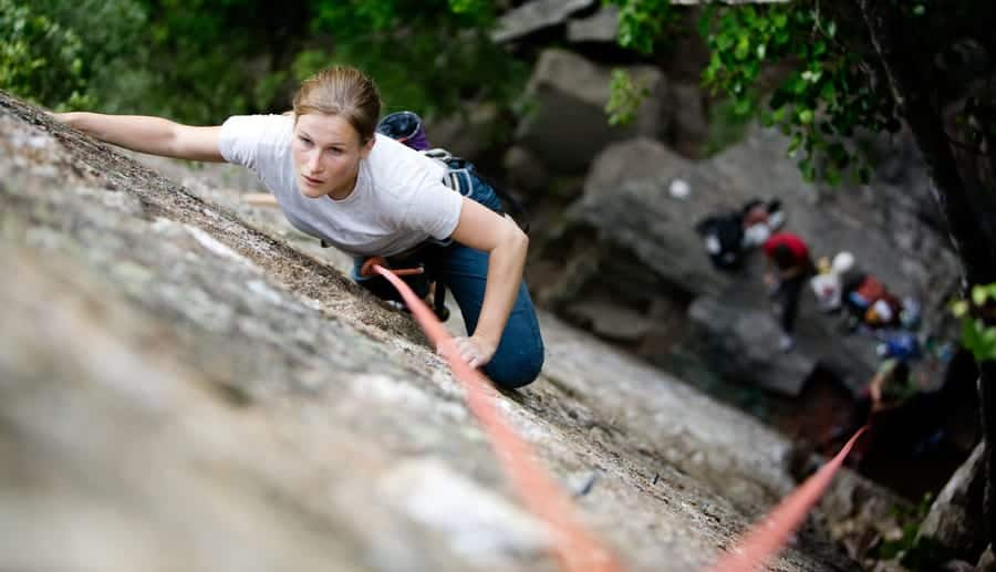 Struztraining Klettern Toprope