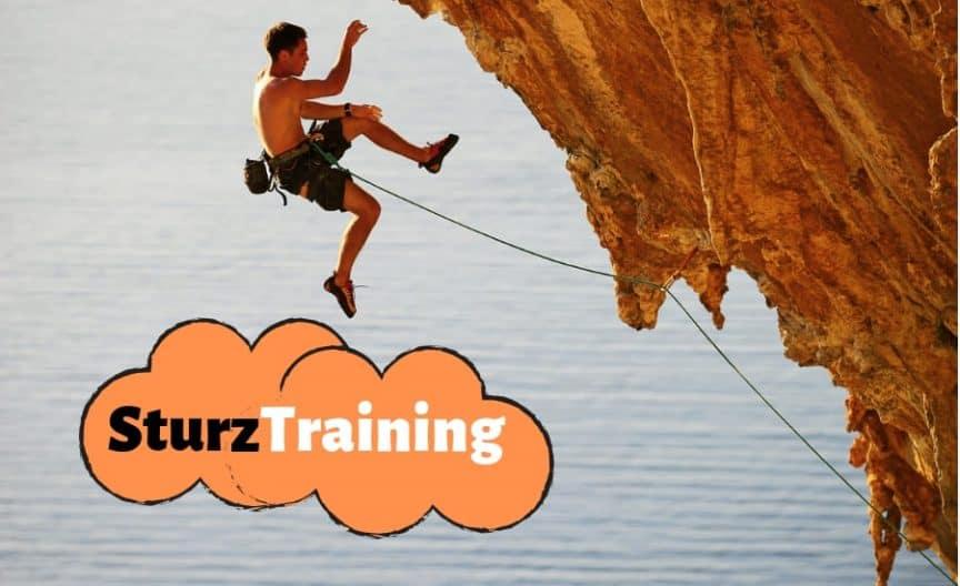 d28095e143ddf0 Klettern Sturztraining. 9 Schritte-Guide der funktioniert!