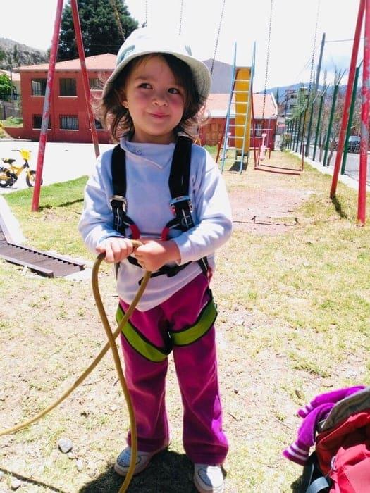 Klettergurt für Kinder