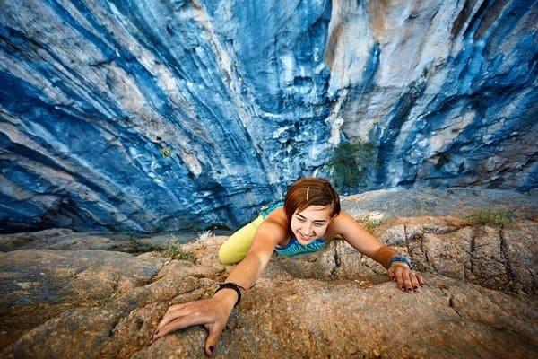 Klettern-Abnehmen-Übergewicht