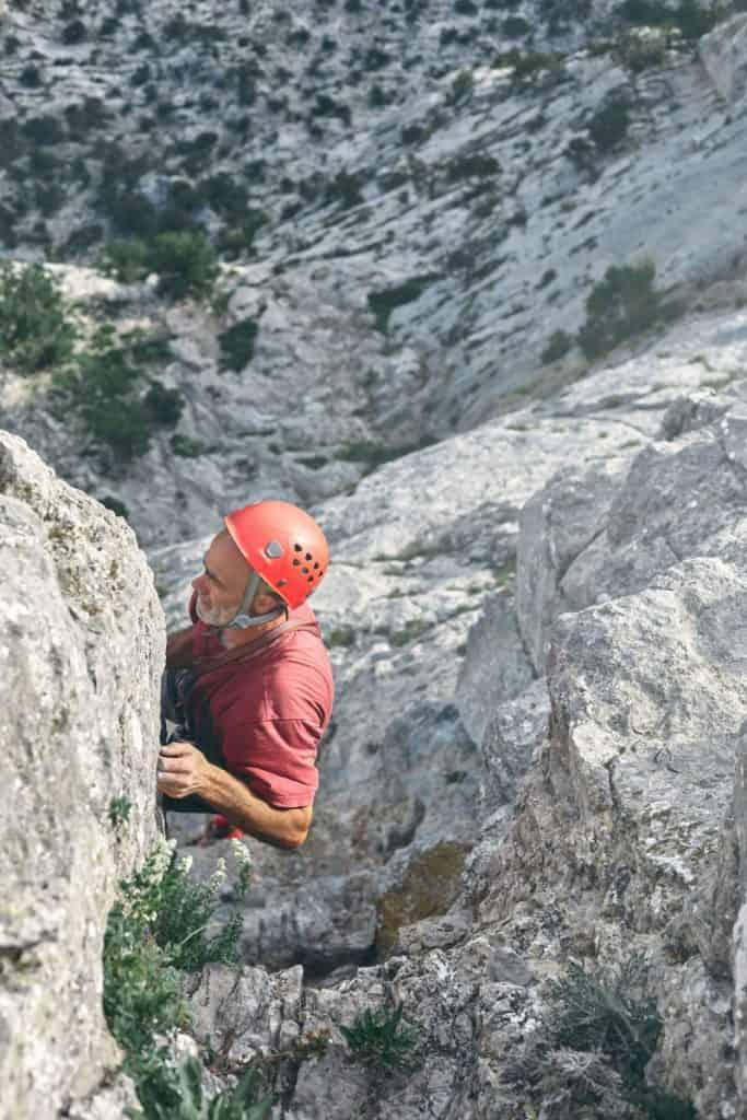Klettern im Alter Mehrseillängen