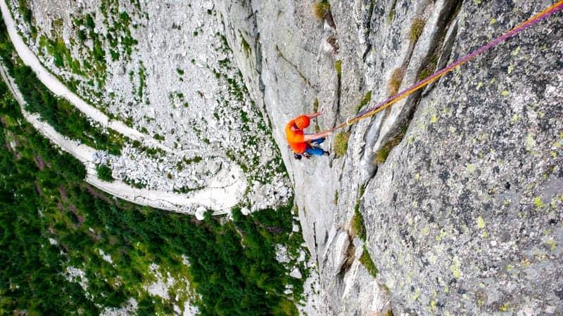 Mehrseillängen klettern nachsteigen