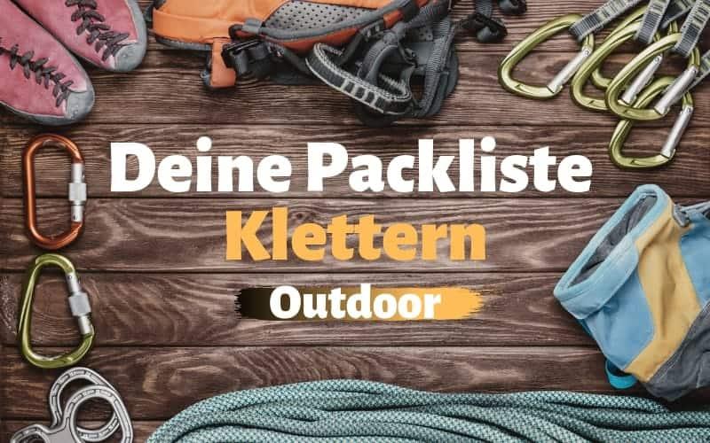 Ausrüstung-Klettern-Outdoor-Felsklettern